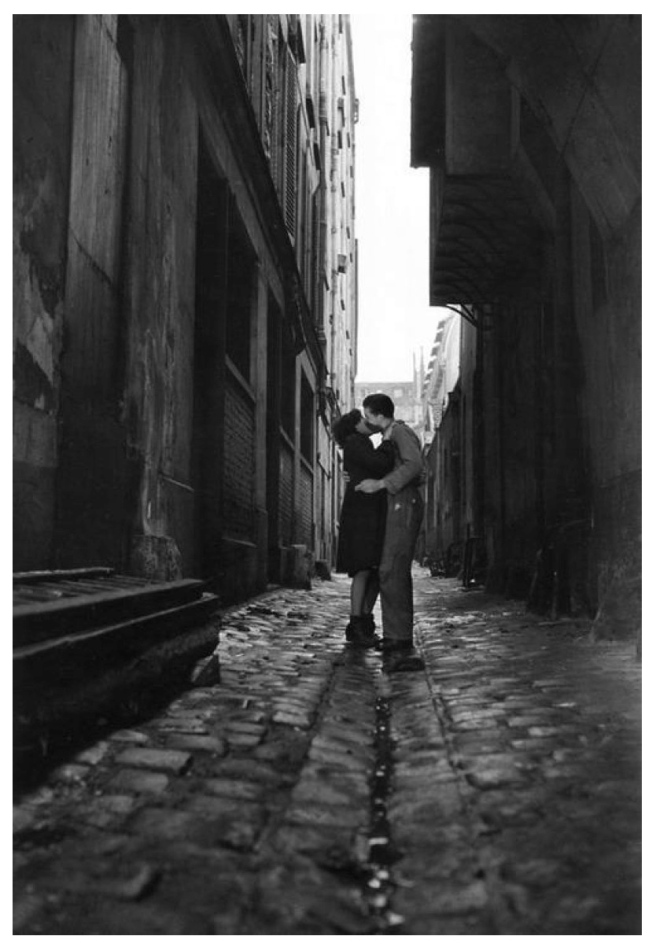 """Parisian Love"".  Paris, 1946"