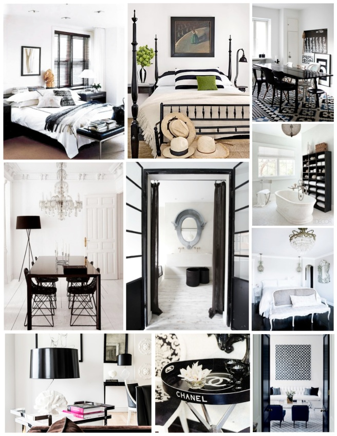 Contrasts In Color:  Sharp & Crisp Black And White