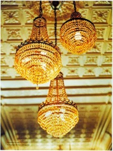 Crystal Elegance:  The French Empire Chandelier