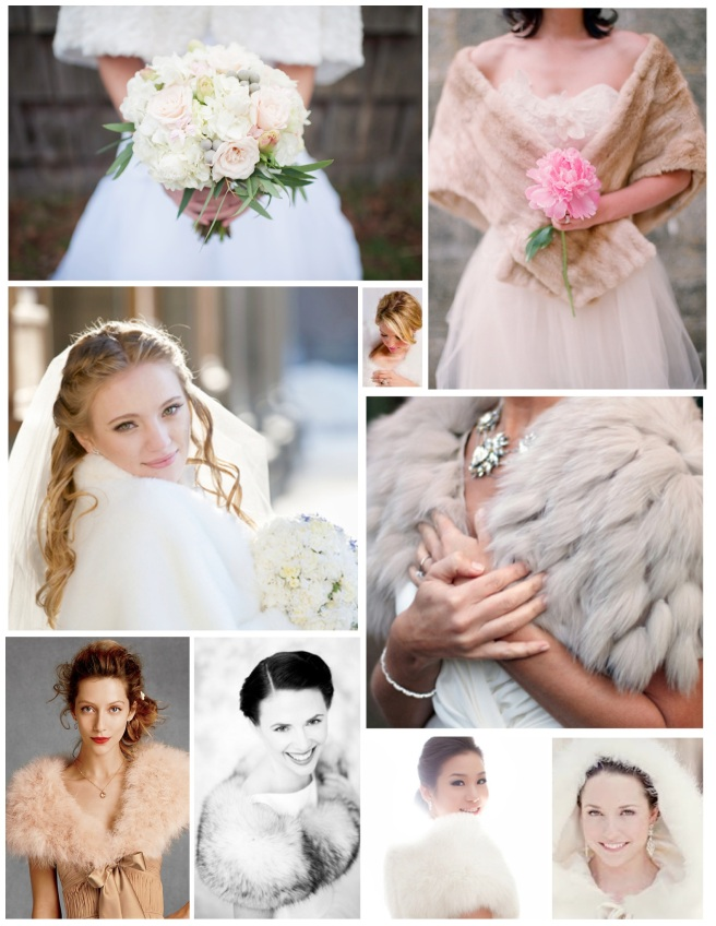 Sophistication & Elegance:  Wedding Day Fur