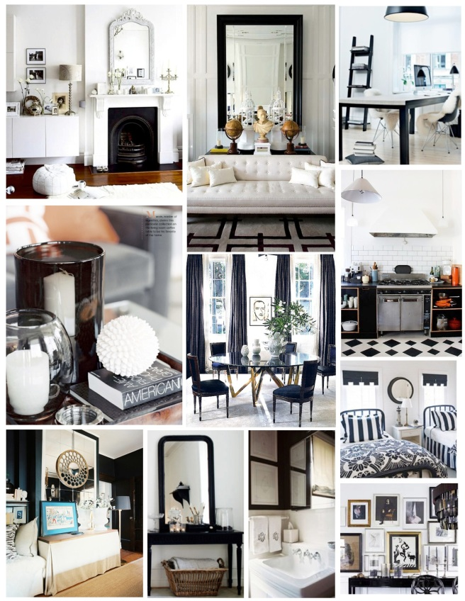 Bold & Stark: The Appeal Of Black And White Interiors