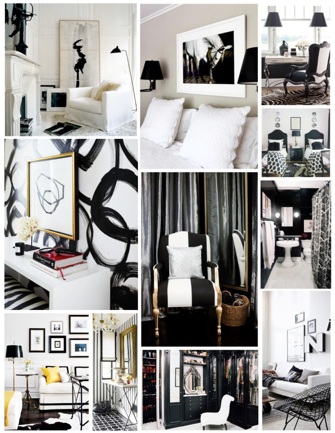 Timeless Combination:  Black & White