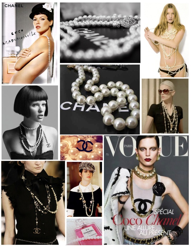 """Chanel's Pearls"""