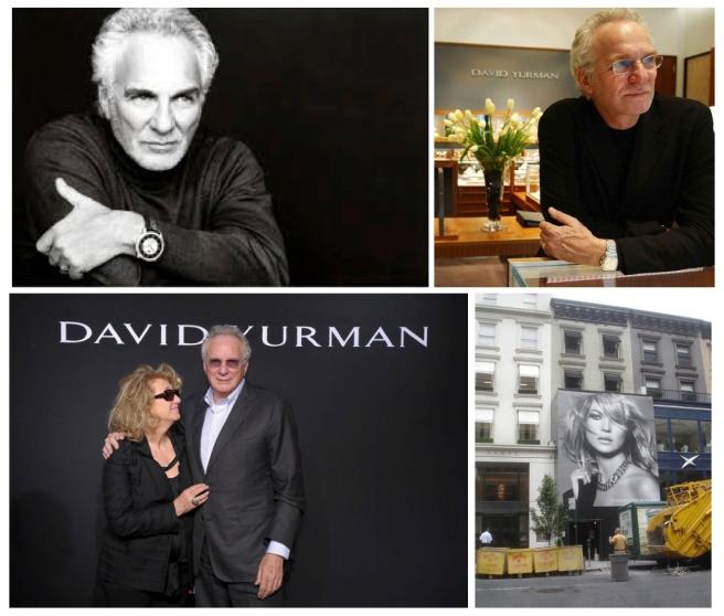 "Founders Of Jewelry Company ""David Yurman"":  David Yurman & Sybil Kleinrock (Yurman)"
