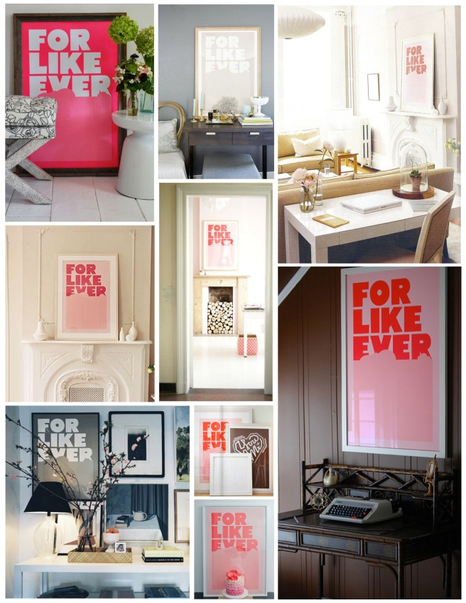A Theme Of Love Within Interiors