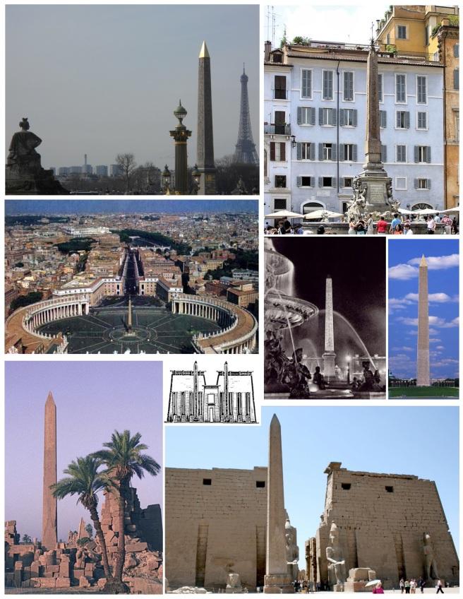 The Ancient Obelisk:  Worldwide Appeal