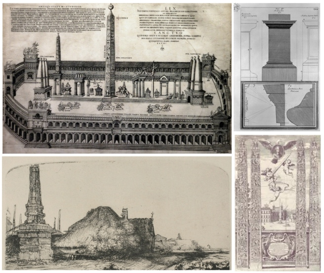Renderings Of Ancient Style:  The Obelisk