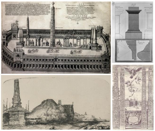 Renderings Of Ancient Style:  The Obelisk