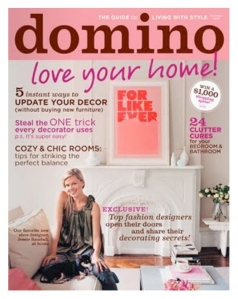 The Magazine Cover That Launched A Poster, Domino Magazine, 2006