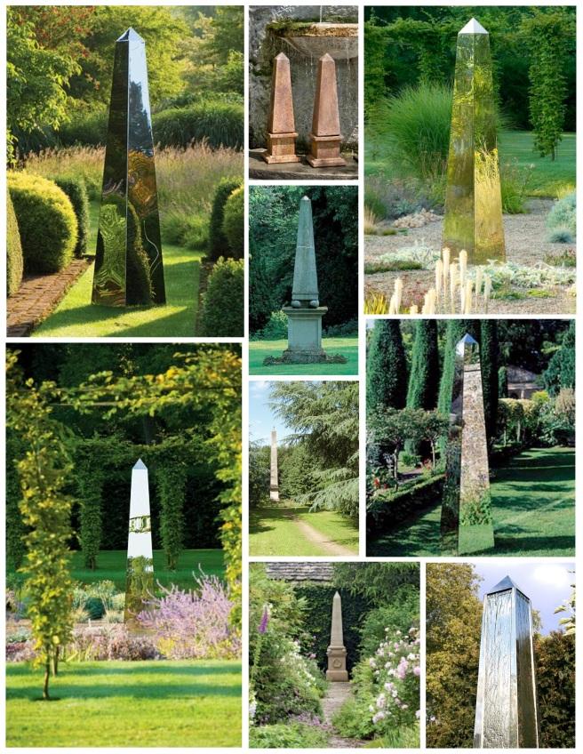 Garden Inspirations: The Classic Obelisk