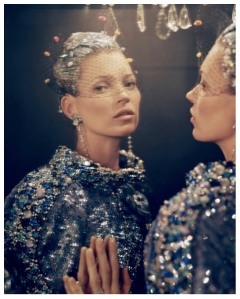 Mirrored Reflections Of Beauty (Kate Moss/American Vouge/Paris Ritz