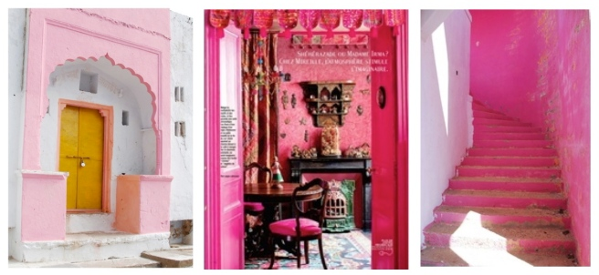 """Pink"" Inspiration From India"