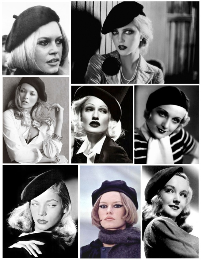 Iconic Style With Elegance:  The Classic Black Beret