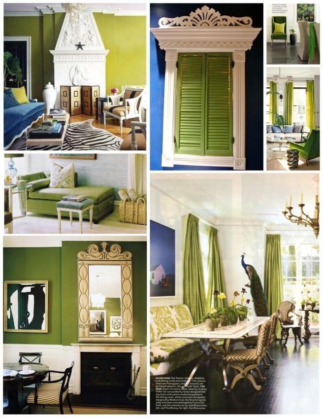 The Bright Green Allure Of Interior Style