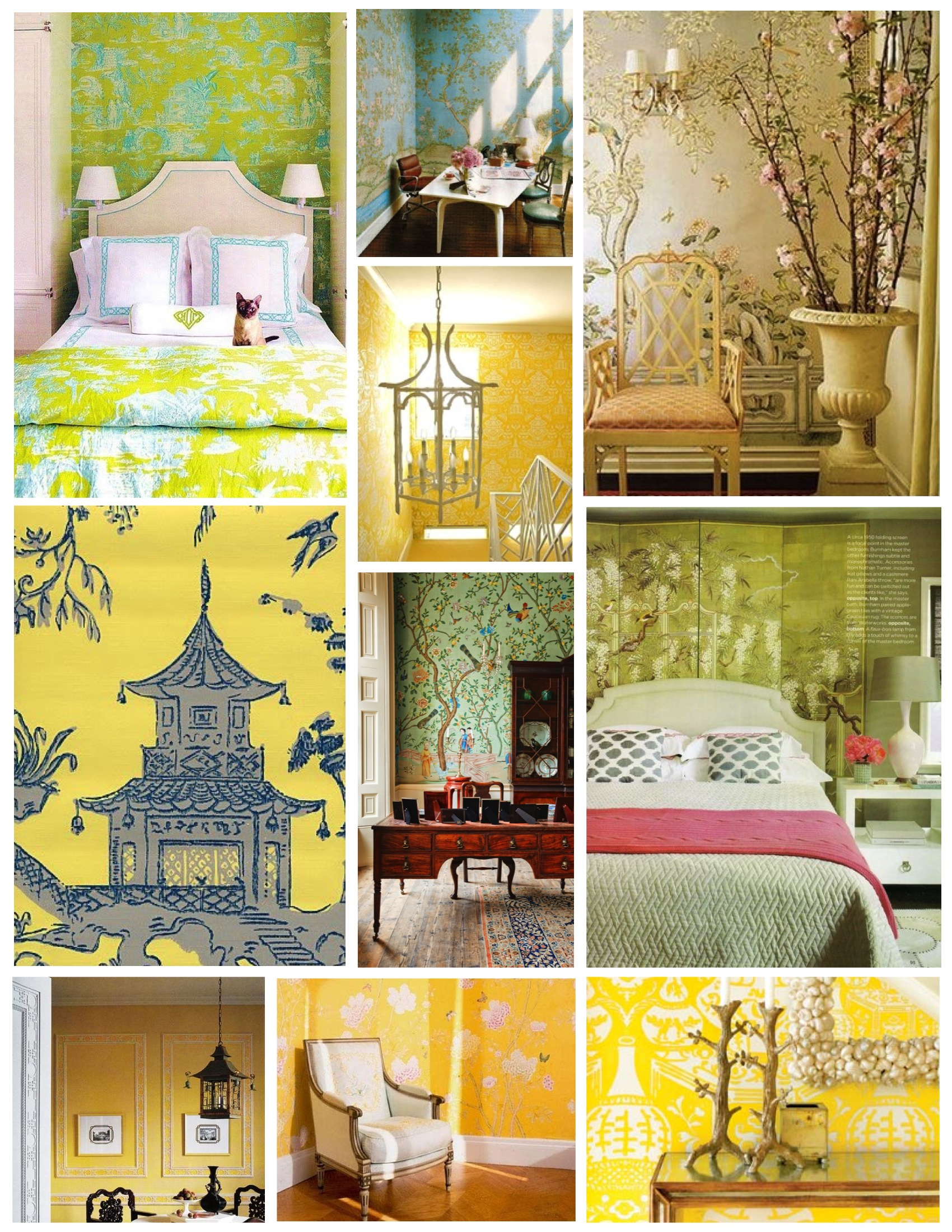 """The Timeless Allure Of Elegance & Whimsy: """"Chinoiserie"""" 