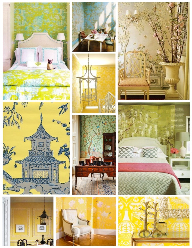 "Bright Delight:  ""Chinoiserie"" Style"