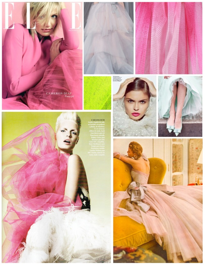 Tulle:  Embellishment With Texture, Style & Colors