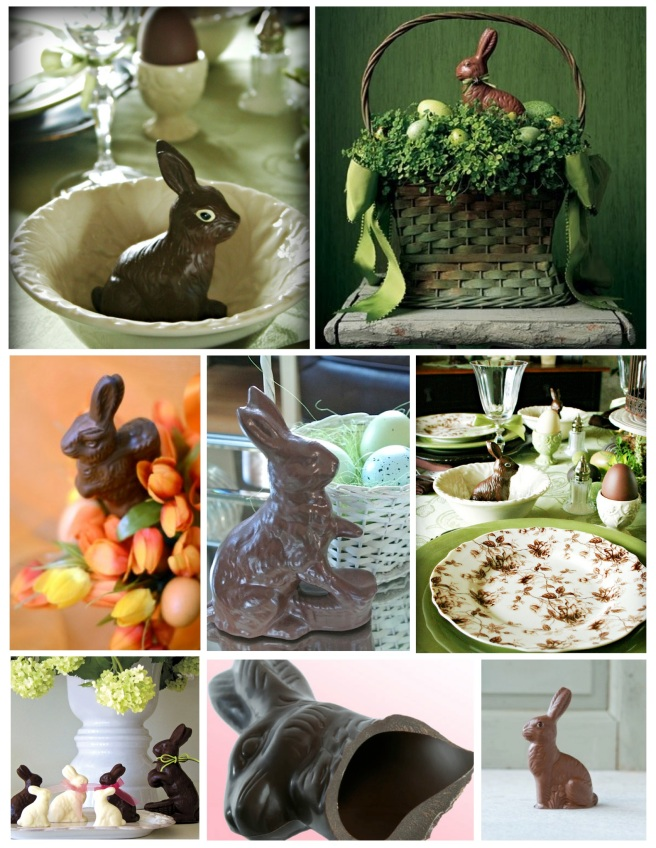 """The Decoration Of  Easter's  """"Chocolate Rabbit"""""""