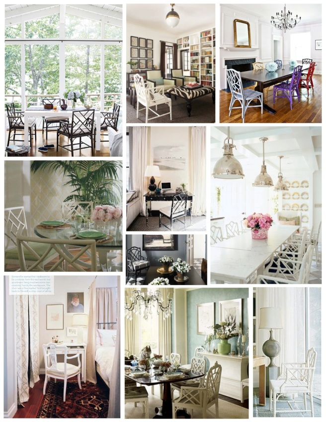 """Chinoiserie"" Chair Inspirations"