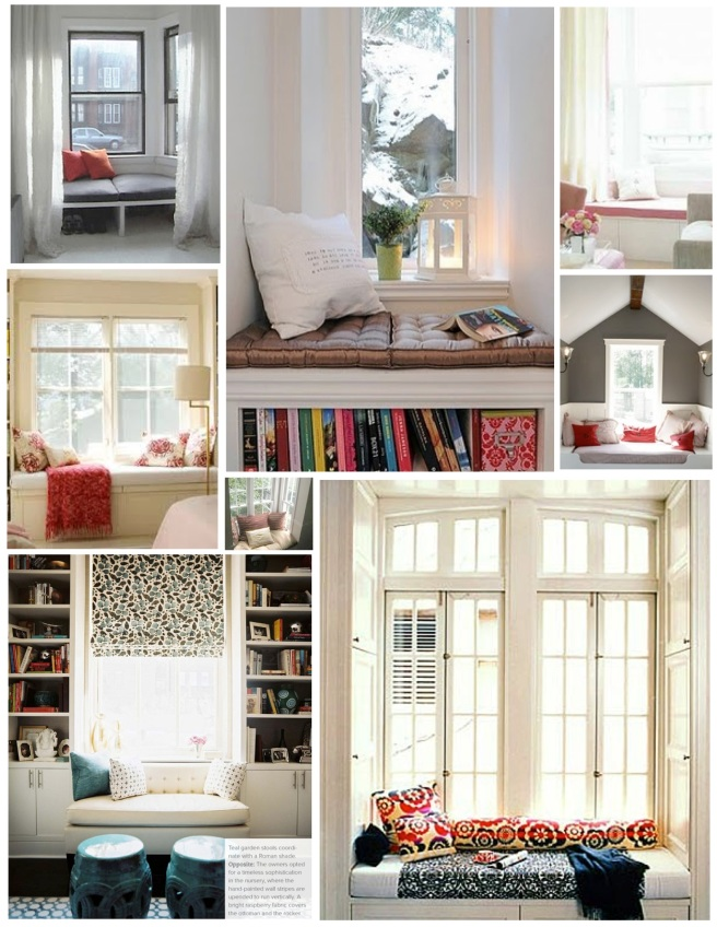"Interior Details:  Maximizing A Window With A ""Window Seat"""
