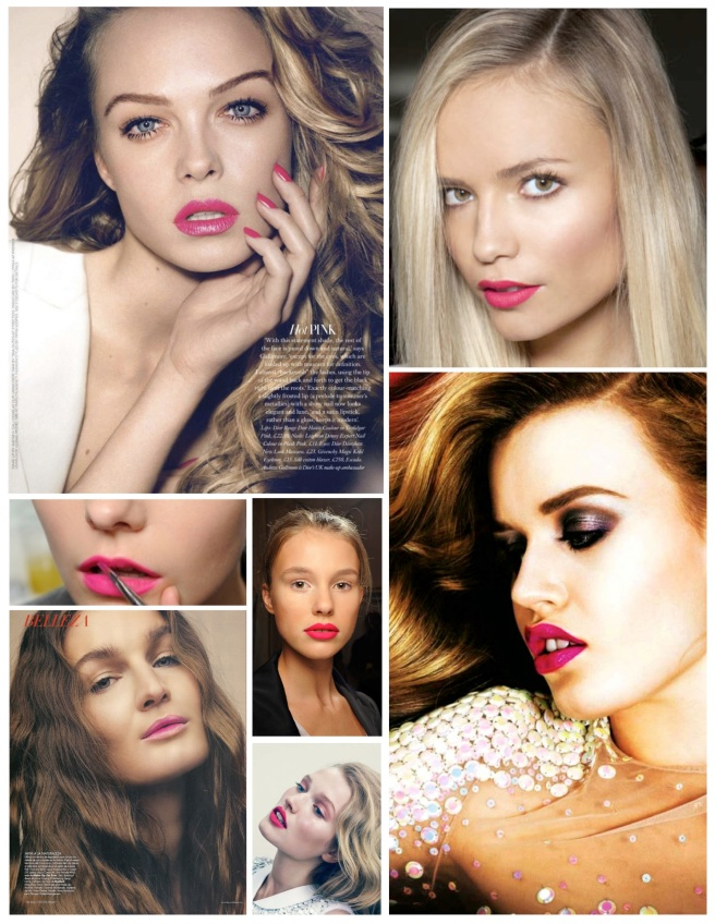 "Variations Of ""Pink"":  The Allure Of Pink Lipstick"