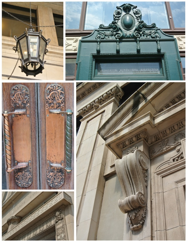 Exterior Details Of St. Louis, Missouri
