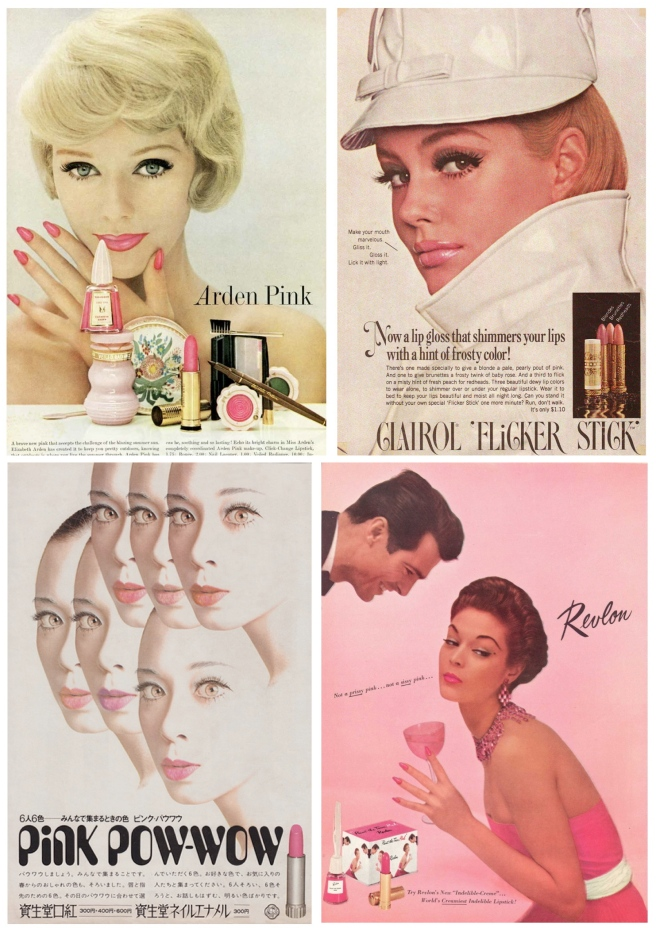 Fashion's Archives: Pink Lipstick