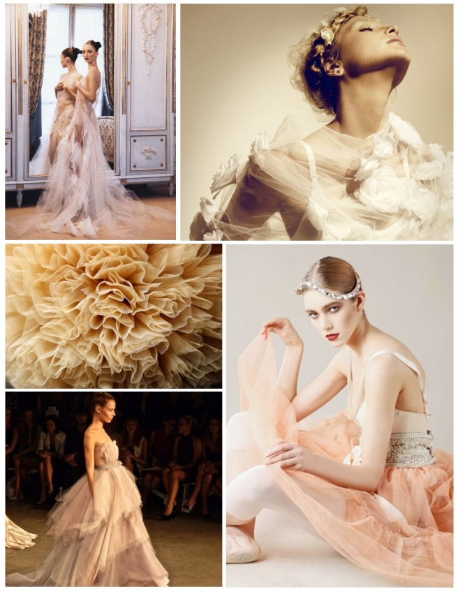 Airy Drama:  The Billowing Glory Of Tulle