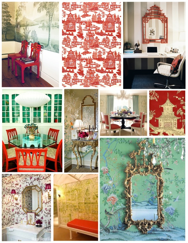 """Chinoiserie"":  Elements Of Worldly Appeal"