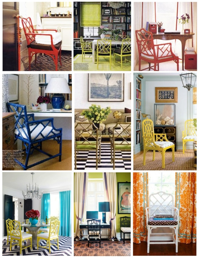 "Colorful & Bold Interpretations Of Timeless Design:  ""Chinoiserie"" Designs"