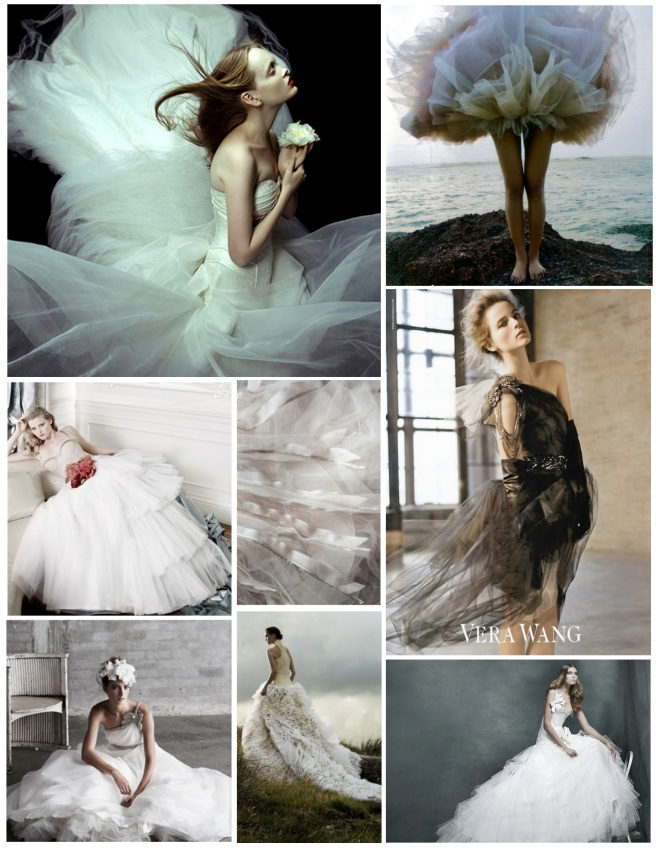 Floating & Billowing Adornment:  The Glory Of Tulle