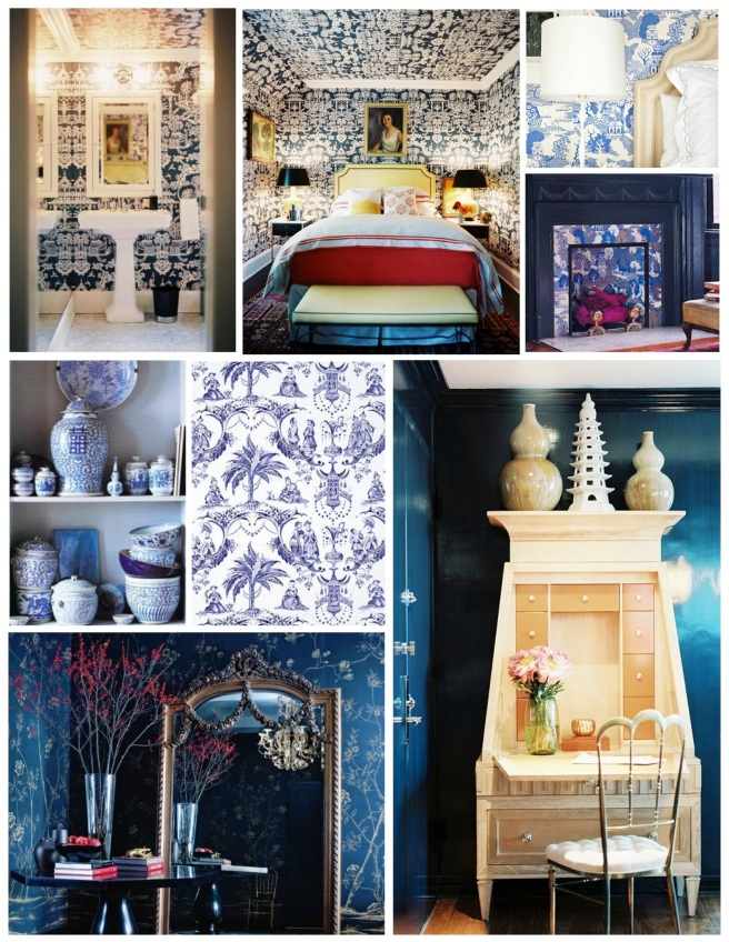 """Chinoiserie"":  Visual Representations Of Stylized Design"