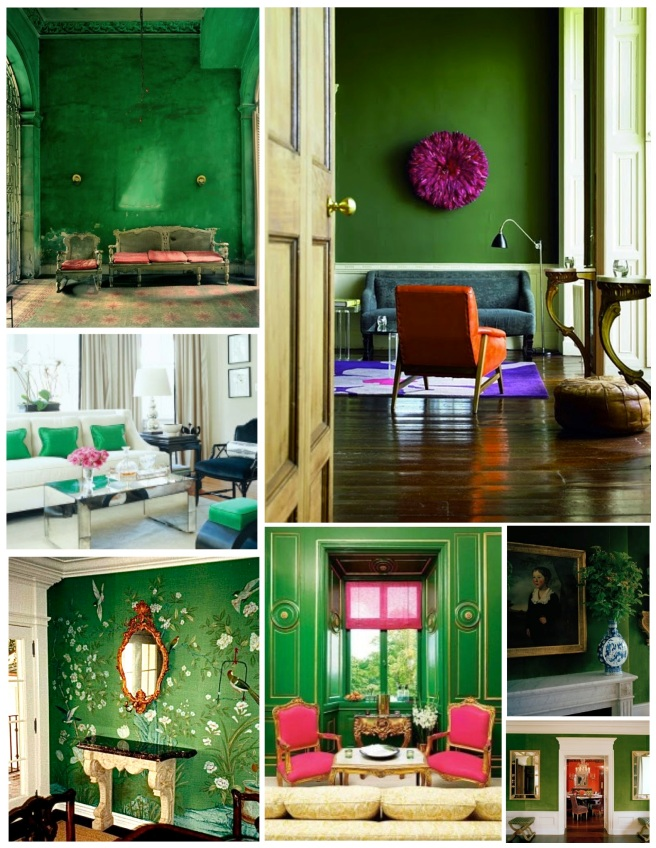 Vibrant Green Within The Interior