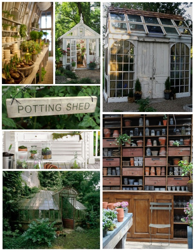 "Nuturing Nature:  The ""Potting Shed"""