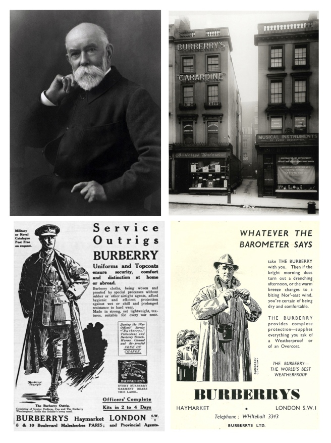 Thomas Burberry,  Burberry /Established 1856