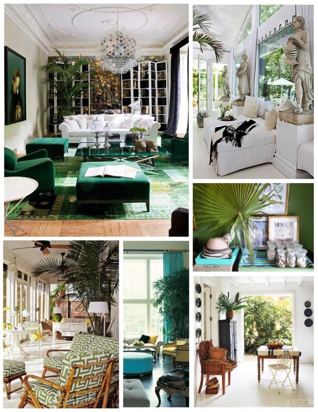 "Interior Decoration With ""Palms"""