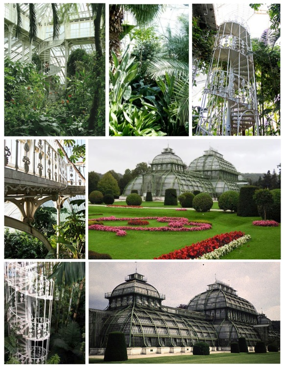 "Botanical Structures Of Elegance:  The ""Palm House"""
