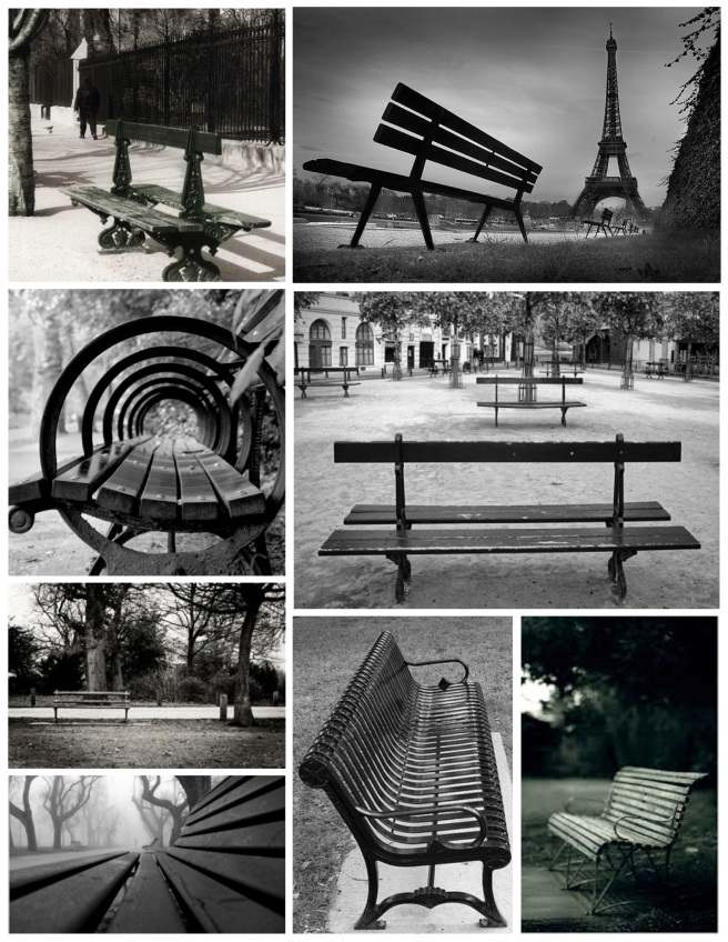 Elements Of Exterior Design:  The Appeal Of The Park Bench