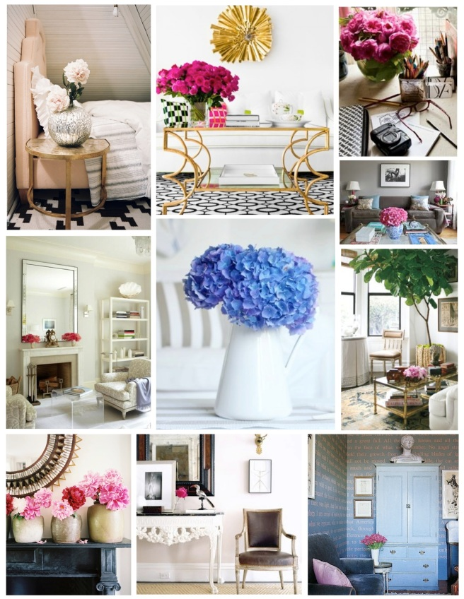 Floral blooms:  Cheerful, Natural Indulgences