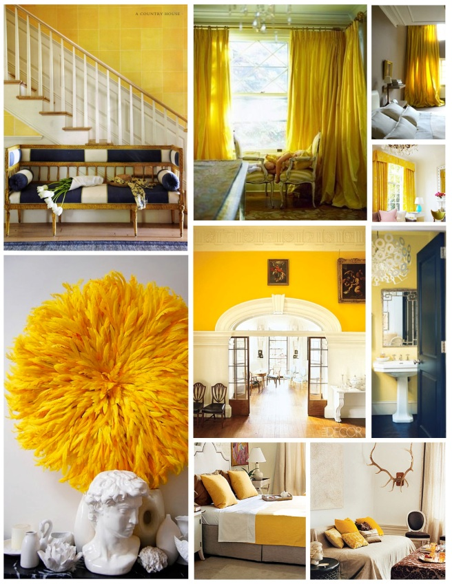 The Vibrant Saturation Of Yellow