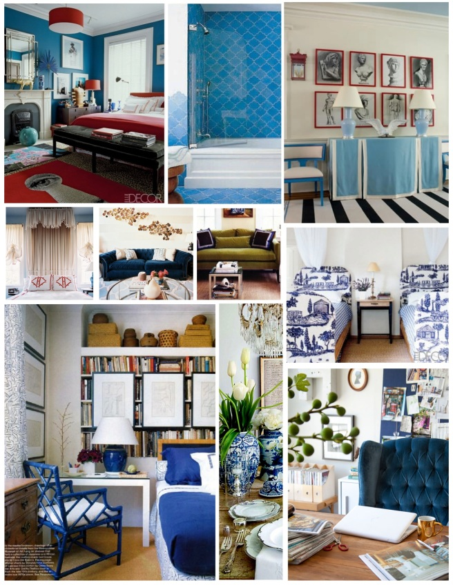 """Blue"" Bliss Within The Interiors"