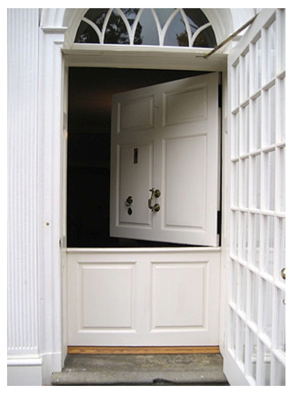 "Hinges & Division Of Versatility:   The ""Dutch Door"""