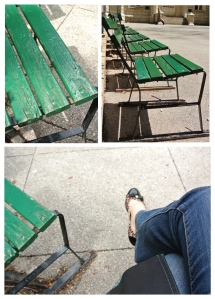 A Moment On A Park Bench: Appreciation Of The City That Surrounds...