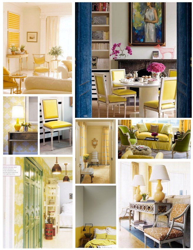 "Interior Enhancement In ""Cheerful"" Yellow"