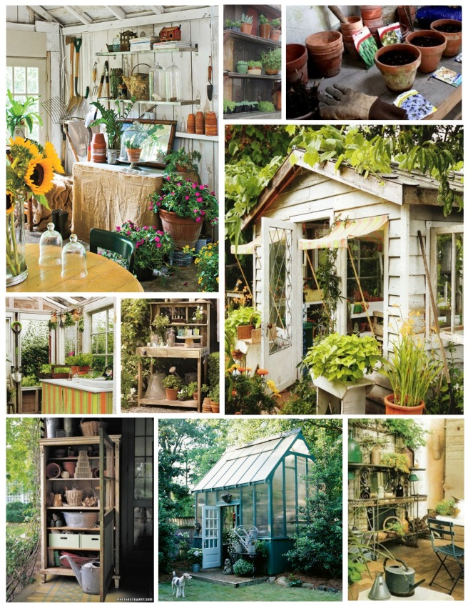 "Garden Respite:  Solitude within the ""Potting Shed"""
