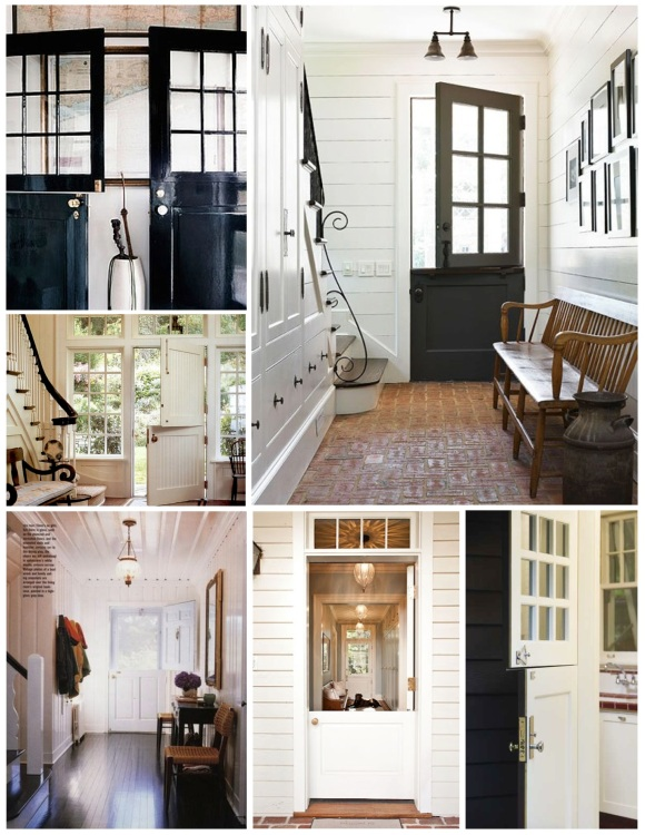 "Unique Architecture Of Form & Function:  The ""Dutch Door"""