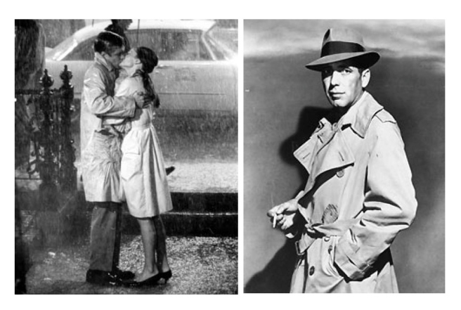 Classic Reels Of Hollywood:  Breakfast At Tiffany's (George Peppard & Audrey Hepburn) & Casablanca (Humphrey Bogart)