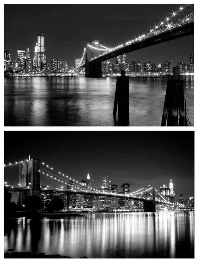 City Scapes With Lights:  The Stunning Architecture Of TheBrooklyn Bridge