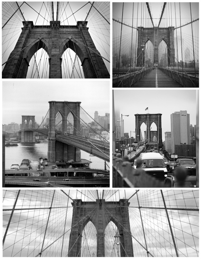 """Towers Of Gothic Distinction:  The Brooklyn Bridge"""