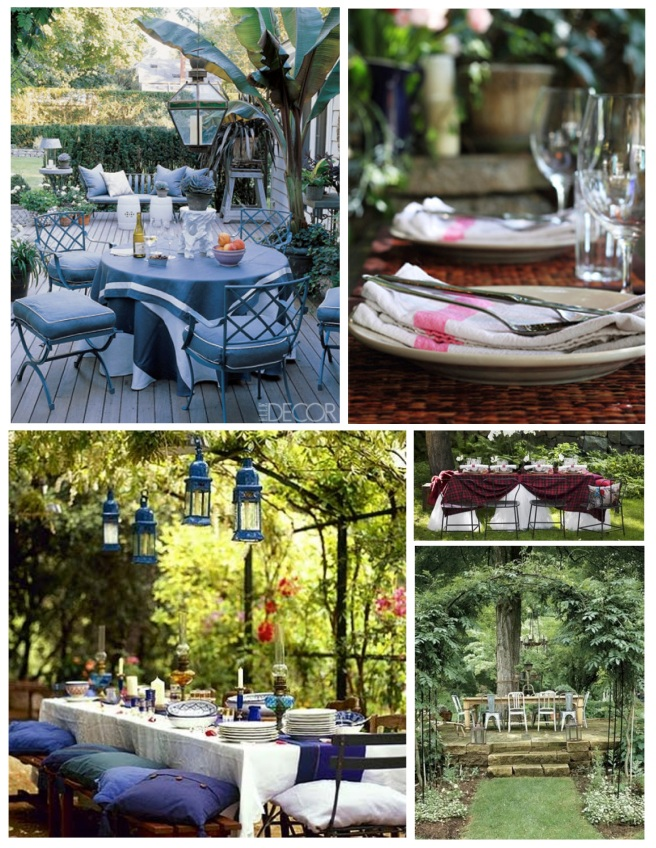 Scenic Respite:  The Pleasures Of Outdoor Dining